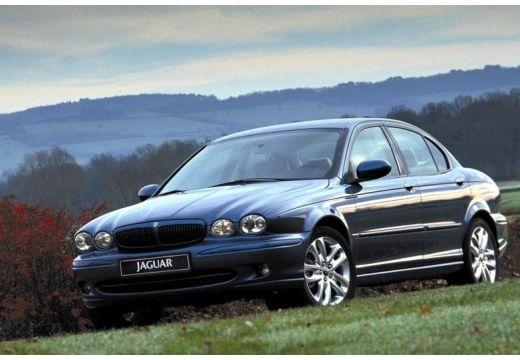 JAGUAR X-Type I sedan niebieski jasny przedni lewy