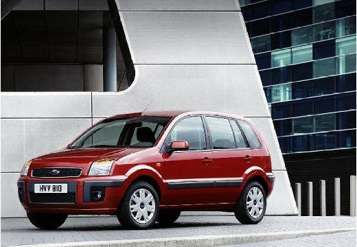 FORD Fusion hatchback czerwony jasny przedni lewy