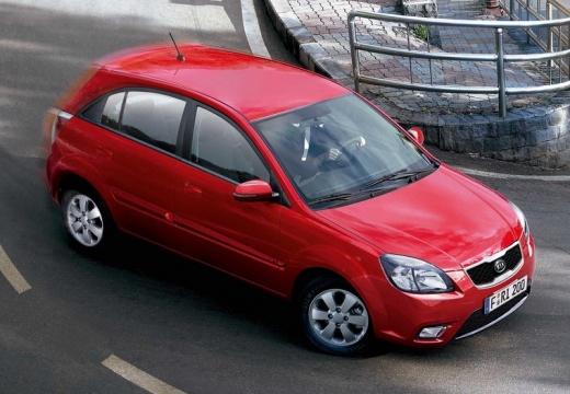 KIA Rio IV hatchback czerwony jasny przedni prawy