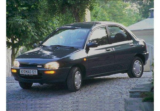 MAZDA 121 sedan czarny przedni lewy