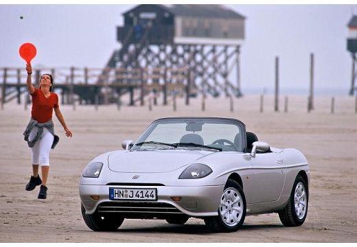 FIAT Barchetta kabriolet silver grey przedni lewy