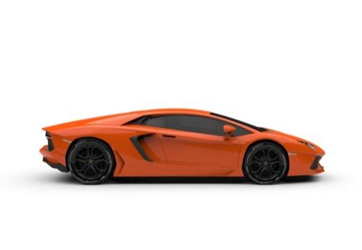LAMBORGHINI Aventador I coupe boczny prawy