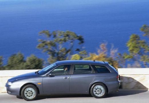 ALFA ROMEO 156 Sportwagon II kombi szary ciemny boczny lewy