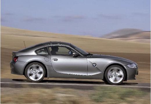 BMW Z4 coupe silver grey boczny prawy