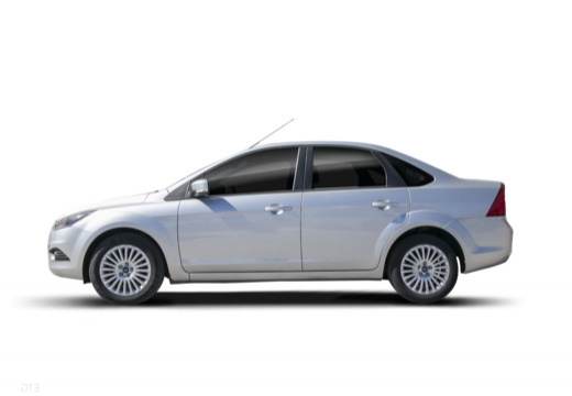 FORD Focus IV sedan silver grey boczny lewy