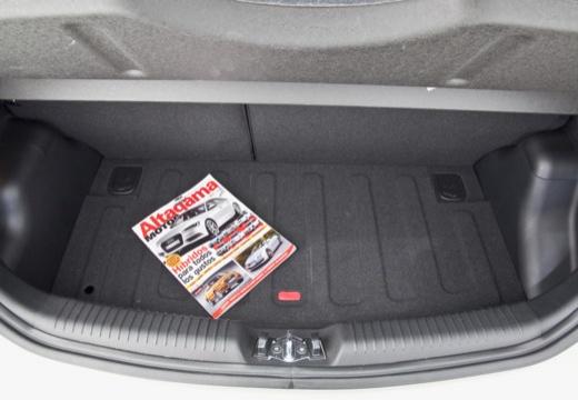 KIA Picanto III hatchback przestrzeń załadunkowa