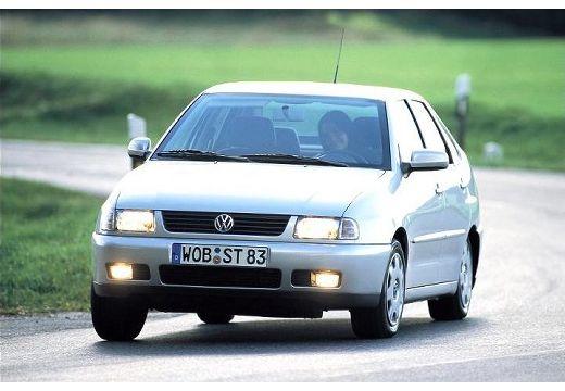VOLKSWAGEN Polo sedan silver grey przedni lewy
