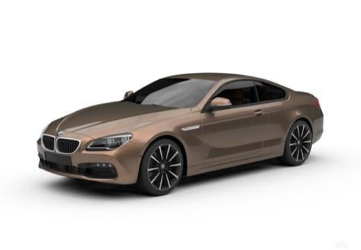 BMW Seria 6 coupe przedni lewy