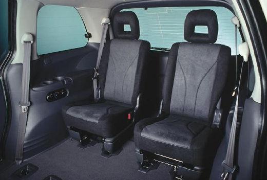 MAZDA MPV III van wnętrze