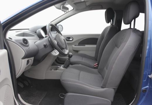 RENAULT Twingo IV hatchback niebieski jasny wnętrze