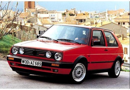 VOLKSWAGEN Golf II hatchback czerwony jasny przedni lewy