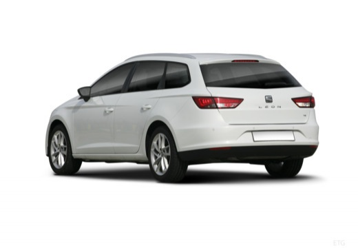 SEAT Leon ST I kombi biały tylny lewy