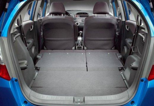 HONDA Jazz II hatchback niebieski jasny przestrzeń załadunkowa