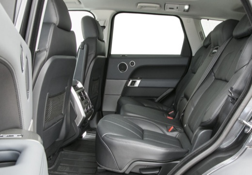 LAND ROVER Range Rover Sport IV kombi czarny wnętrze