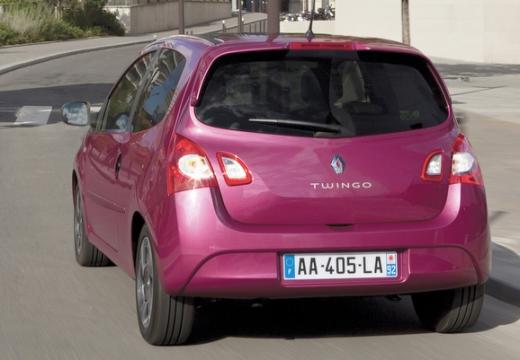 RENAULT Twingo hatchback fioletowy tylny lewy