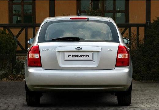 KIA Cerato hatchback silver grey tylny