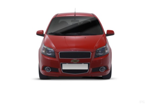 CHEVROLET Aveo II hatchback przedni