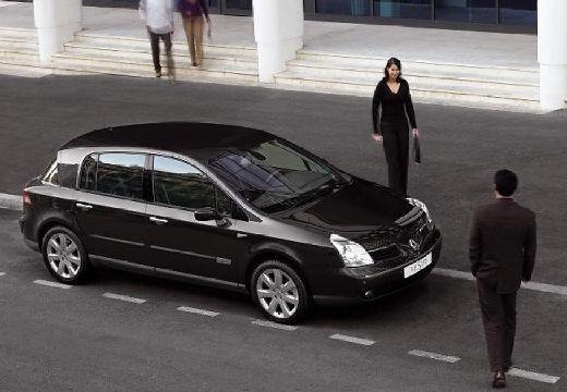 RENAULT Vel Satis II hatchback czarny przedni prawy