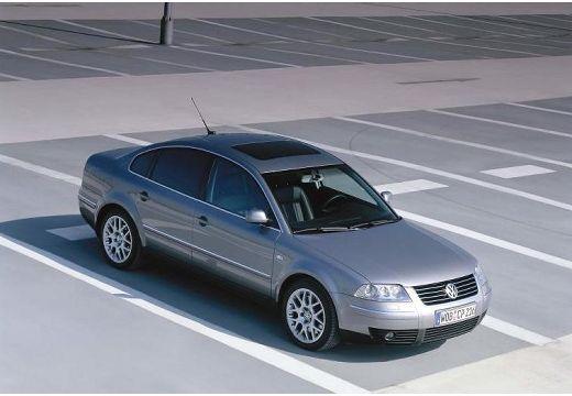 VOLKSWAGEN Passat IV sedan silver grey przedni prawy