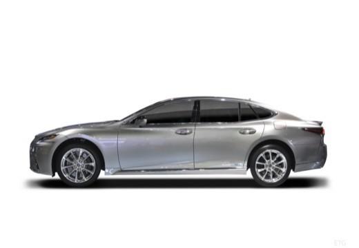 LEXUS LS sedan boczny lewy