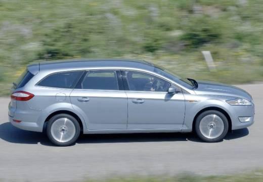 FORD Mondeo VI kombi silver grey boczny prawy