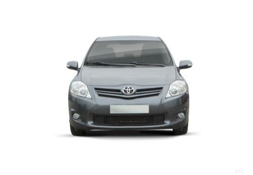 Toyota Auris II hatchback szary ciemny przedni