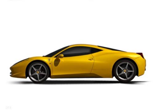 FERRARI 458 I coupe żółty boczny lewy