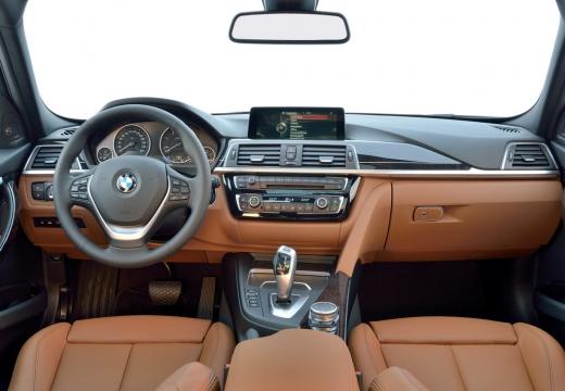 BMW Seria 3 Touring F31 I kombi brązowy tablica rozdzielcza