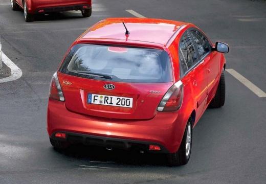 KIA Rio IV hatchback czerwony jasny tylny prawy