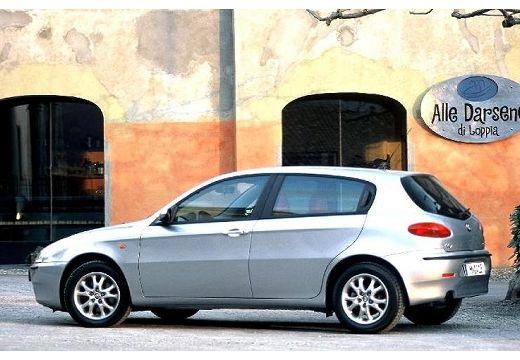 ALFA ROMEO 147 I hatchback silver grey tylny lewy