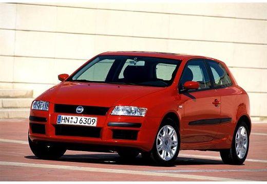 FIAT Stilo II hatchback czerwony jasny przedni lewy