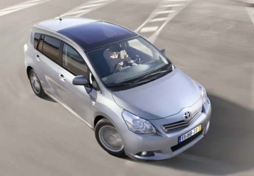 Toyota Verso, универсал, mpv silver grey передний правый