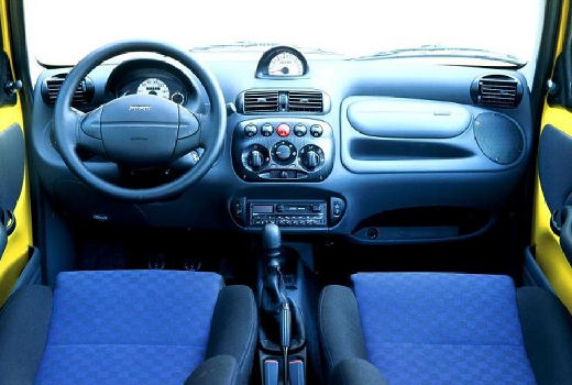 FIAT Seicento I hatchback tablica rozdzielcza