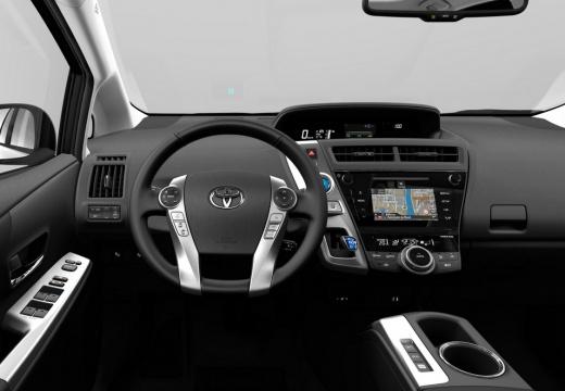 Toyota Prius kombi tablica rozdzielcza