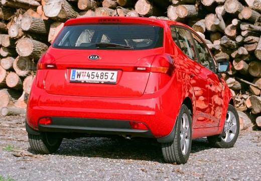 KIA Venga I hatchback czerwony jasny tylny prawy