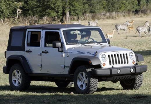 JEEP Wrangler III soft top biały przedni prawy