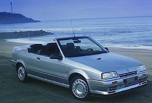 RENAULT R19 kabriolet silver grey przedni prawy