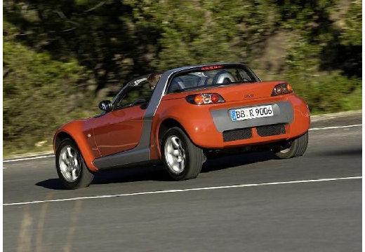 SMART Roadster I roadster brązowy tylny lewy