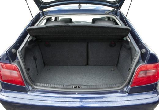 CITROEN Xsara II hatchback przestrzeń załadunkowa