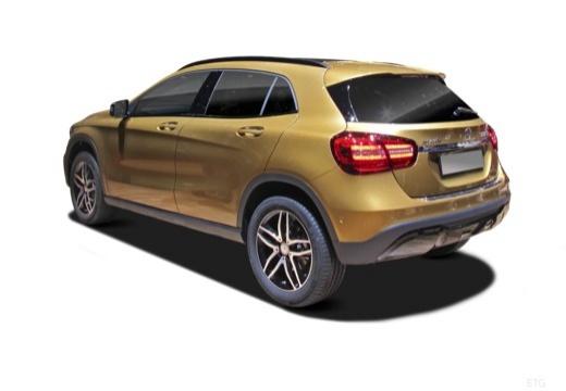MERCEDES-BENZ Klasa GLA GLA 156 hatchback tylny lewy