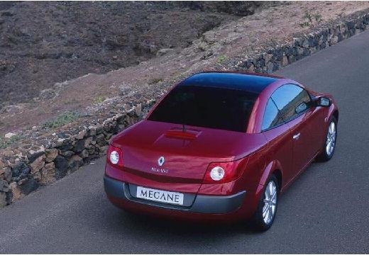 RENAULT Megane CC kabriolet bordeaux (czerwony ciemny) tylny prawy
