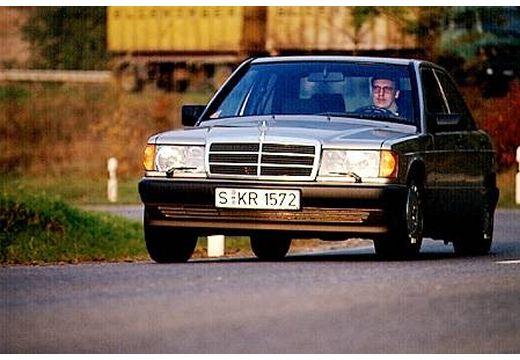 MERCEDES-BENZ 190 W201 sedan silver grey przedni lewy