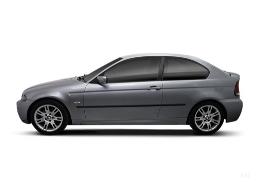 BMW Seria 3 hatchback boczny lewy