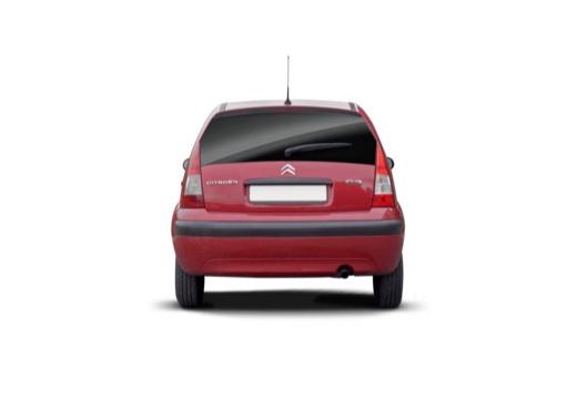CITROEN C3 II hatchback czerwony jasny tylny