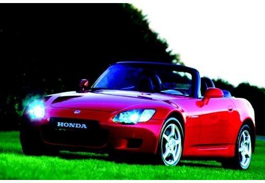 HONDA S 2000 roadster czerwony jasny przedni lewy