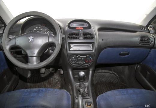 PEUGEOT 206 I hatchback tablica rozdzielcza