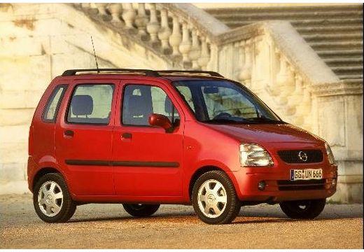 OPEL Agila I hatchback czerwony jasny przedni prawy
