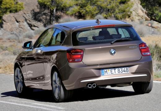 BMW Seria 1 F21 I hatchback brązowy tylny lewy
