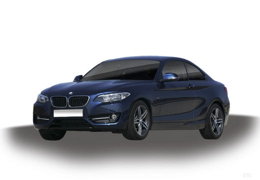 BMW 218d Advantage Coupe F22 I 2.0 143KM (diesel)