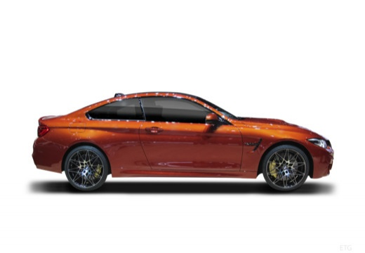 BMW Seria 4 coupe boczny prawy